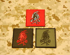 NSWDG Red Squadron Shooter Patch Set Seal Team Six DevGru Red Team ST6 VELCRO®