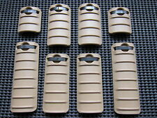 Airsoft RAS Ris rail covers 8 pcs for 20mm rail base SA