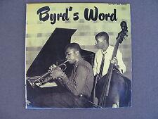 Byrd's Word Donald Byrd  1955 Savoy Record Mini LP CD Japan