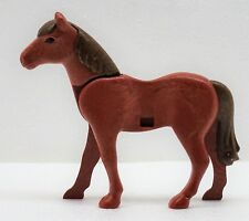 BEAUTIFUL HORSE Reddish Brown Playmobil to Western Knight Guard Animal Pony Farm