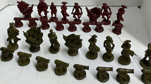 100% Complete Set PIRATES OF THE CARIBBEAN Chess Pieces 32 Total Replacements