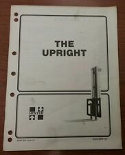 "Hyster ""The Upright"" Manual, Part No. 910117, 4000 SRM 127"