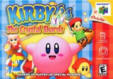 Kirby 64 The Crystal Shards N64 Great Condition Fast Shipping