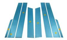 Stainless Still Pillar moldings 8pcs Sets  for 2005 - 2012 Ssangyong Stavic