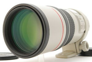 *MINT w/Cap* CANON EF 300mm F/4 L IS USM Telephoto Prime Lens From JAPAN #FedEx#