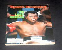 SPORTS ILLUSTRATED OCTOBER 13 1980 MUHAMMAD ALI / LARRY HOLMES FIGHT