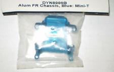 DYNAMITE  DYN8009B ALUMINUM FRONT CHASSIS BLUE MINI-T NEW NIP