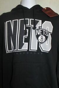Mitchell /& Ness black and white Team Sweatpulli Herren Hoodie 32587 black