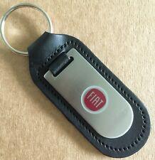 NEW Fiat key ring, genuine leather, Punto, Tipo, Panda, Doblo, Qubo