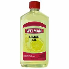 Weiman Lemon Oil Furniture Polish with Sunscreen 16oz Pack-2 16618-2