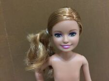 Barbie Sister Stacie Strawberry Blonde Pony Tail Hair Nude Doll OOAK Or Play