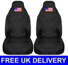 AMERICAN FLAG CAR SEAT COVERS PROTECTORS UNIVERSAL FIT - USA AMERICA STATES