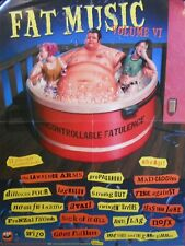 FAT MUSIC VOLUME VI POSTER  (C11)
