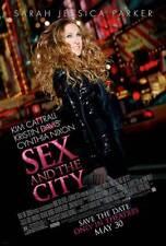 SEX AND THE CITY: THE MOVIE Movie POSTER 27x40 E Sarah Jessica Parker Kim