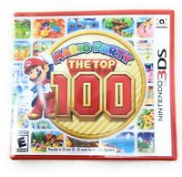 Nintendo 3DS Mario Party The Top 100 Video Game Amiibo Playable in 2D and 3D