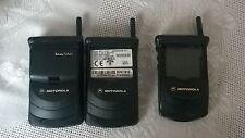 Motorola Star Tac MR501 x 2 + 70 x 1 Untested + 1 Charger  bundle 3 Phones