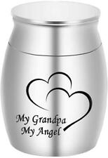 Dletay Small Keepsake Urns for Human Ashes Mini Cremation Urns for Ashes Stainle