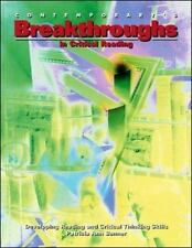 Breakthroughs in Critical Reading: Developing Reading and Critical Thinking