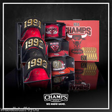 New Era Chicago Bulls Jordan Champ Pack 91-93 96-98 Limited Snapback Cap Hat New