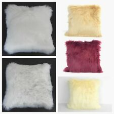 Super soft fluffy faux sheepskin fur rugs with faux suede back size- 55x55 cms