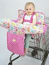 Nuby Shopping Cart and High Chair Cover - Pink - New - No Box