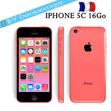"""APPLE Iphone 5c 16 Go ROSE """"DÉBLOQUÉ TOUT OPÉRATEUR""""  GARANTIE 6 MOIS"""