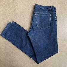 APC Petit New Standard Selvedge Denim Jeans Raw Indigo 32