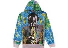 NWT Supreme Miles Davis Hooded Sweatshirt Blue Size Small