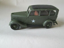 "Solido Military Army Command 1936 Ford V8 Army Diecast Car - France 4"" inch"