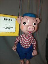 Pelham Puppets  perky  Original  Box  Hand Made In England
