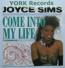 """JOYCE SIMS - Come Into My Life - Excellent Condition 7"""" Single London LON 161"""