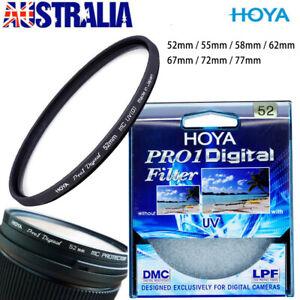 HOYA Slim Digital Camera Filter HMC  UV DMC 52/55/58/62/67/72/77mm AU stock