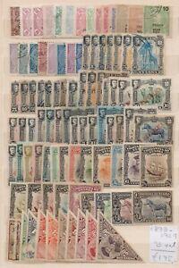 ! Nyassa  1898-1924. Lot Of 93  Stamp. YT#. €195.00 !