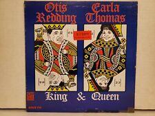 Otis Redding & Carla Thomas 'King & Queen' Mono White Label Promo LP 1967 Stax