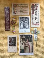 More details for collection of beautiful vintage religious illuminations , cards , bookmarks etc