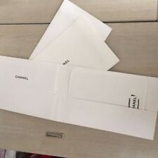 Chanel White Bag Cloth with booklet Coco For Clean Handbag Purses