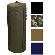 Side Zipper Canvas Duffle Bag, Military Duffel Heavy Duty Cotton Army Sea Cargo