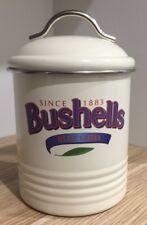 BUSHELLS TEA Metal Beige  Canister