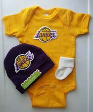 Lakers infant/baby outfit Lakers baby shower gift Lakers infant/baby clothes