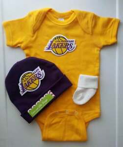 Baby Lakers Lakers infant/baby outfit Lakers baby gift Lakers baby clothes