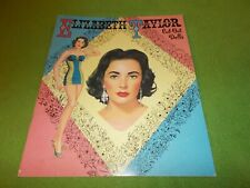Elizabeth Taylor Cut-Out Dolls Vintage 1957 Reproduction
