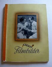 1936 German Cigarette Tabacco Card Book w/ All Glamour Movie Star Cards Complete