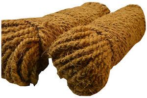 200 Meter Kokosgarn-Dholl Baumstrick 100% Kokosfaser Strick Seil Baum Strauch