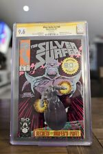 Silver Surfer #50 (Jun 1991, Marvel) CGC 9.6 Signature series. Signed by Ron Lim