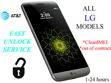 Fast Factory UNLOCK SERVICE/CODE FOR ALL AT&T LG G2 G3 G series | ALL LG MODELS