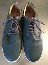 New Globe Australia Mens Taurus Leather Skateboard Lifestyle Shoe Green 9 M US