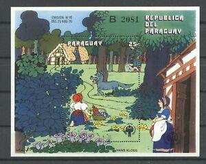 Jahr des Kindes, Märchen - Paraguay - ** MNH 1979