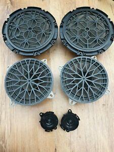 SET 4 CITROEN C3 MK1 CAR DOOR SPEAKERS 2X TWEETERS 9635014780 9643162980 02-09