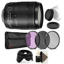 Canon EF-S 18-135mm f/3.5-5.6 IS USM Lens with Accessory Bundle for Canon DSLR