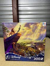 Thomas Kinkade - Disney: The Lion King 300 Piece Puzzle - Brand New! Age 10+